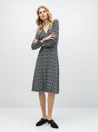 Černé květované šaty Dorothy Perkins
