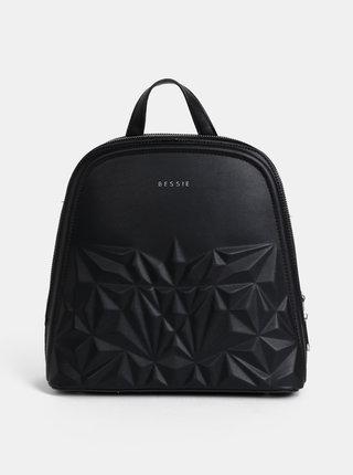 Čierny vzorovaný batoh Bessie London