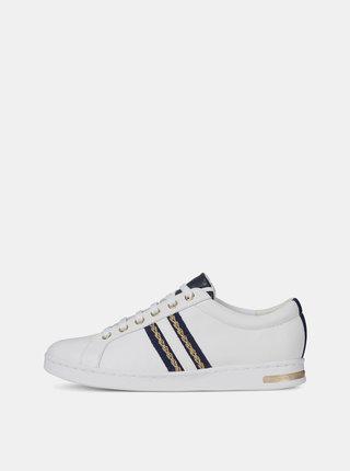 Pantofi sport albi de dama din piele Geox Jaysen