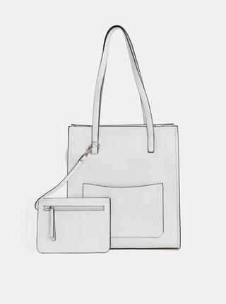 Biela kabelka s puzdrom 2v1 Tom Tailor Denim Jen