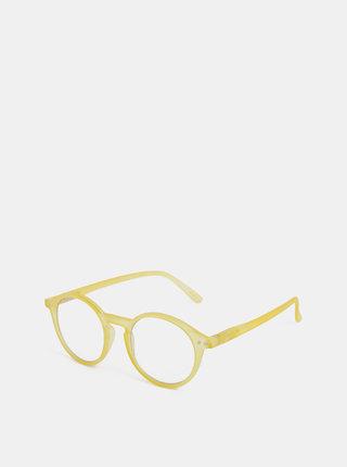 Žluté ochranné brýle k PC IZIPIZI #D