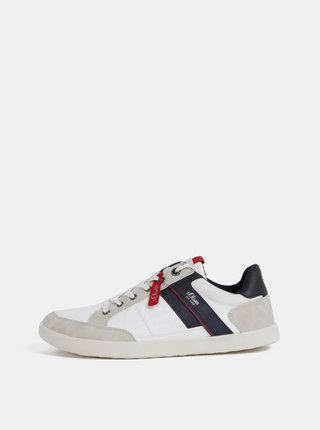 Krémovo–biele pánske tenisky s.Oliver