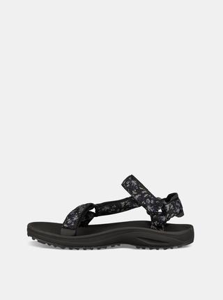 Modro-černé pánské vzorované sandály Teva