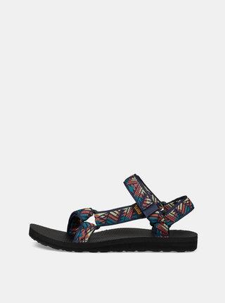 Sandale albastru inchis de dama cu model Teva
