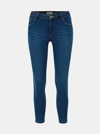 Tmavě modré skinny fit džíny Dorothy Perkins Petite Ashley