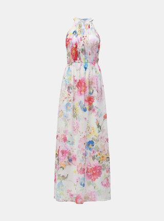 Biele kvetované maxišaty Dorothy Perkins