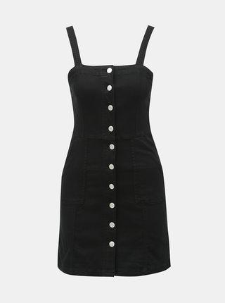 Černé džínové šaty TALLY WEiJL
