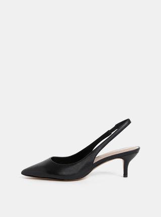 Pantofi negri din piele ALDO Nilania