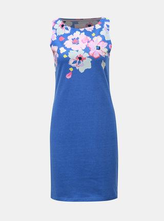 Modré kvetované šaty Tom Joule Rivaprint