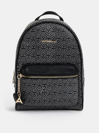 Čierny vzorovaný batoh ALDO Hanalei