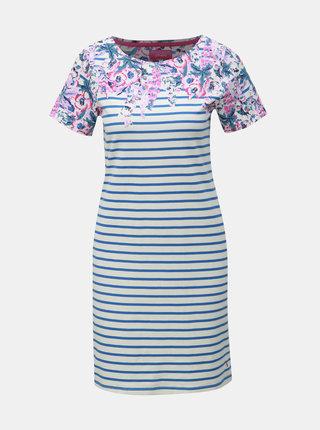 Modro–biele pruhované šaty Tom Joule Rivieraprint