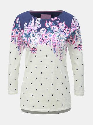 Krémové bodkované tričko Tom Joule Habour