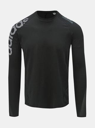 Tricou functional barbatesc negru cu imprimeu adidas Performance