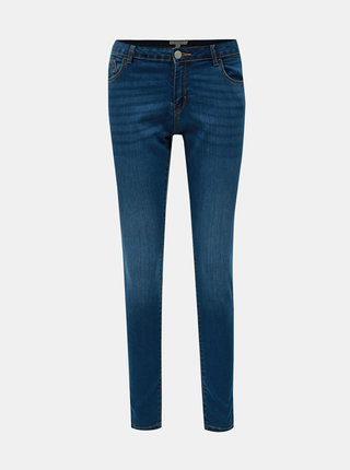 Blugi albastru inchis skinny din denim Dorothy Perkins Ashley