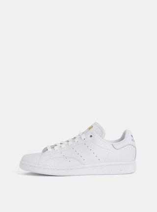 Pantofi sport albi de dama din piele adidas Originals Stan Smith