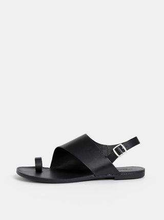 Sandale negre de dama din piele Vagabond Tia