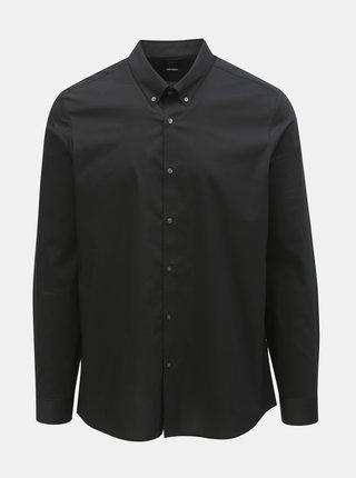 Camasa neagra skinny fit Burton Menswear London