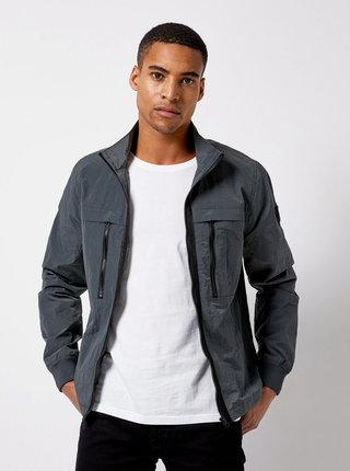 Sivá tenká bunda Burton Menswear London