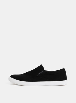 Pantofi slip on barbatesti negri Jack & Jones Rowden