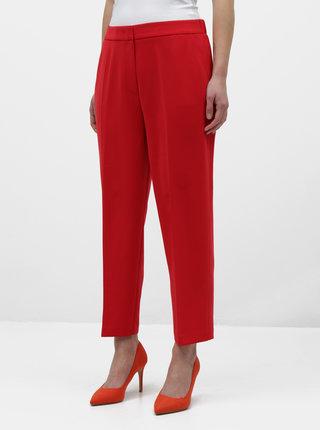 Červené dámske nohavice Tommy Hilfiger