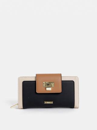 Čierno–béžová peňaženka Gionni Coco