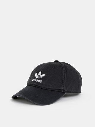 Čierna šiltovka s výšivkou adidas Originals Adic Washed