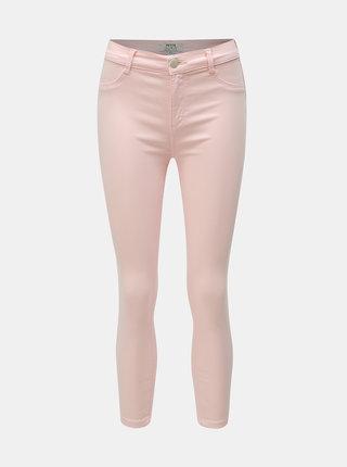 Růžové zkrácené džíny Dorothy Perkins Petite Frankie