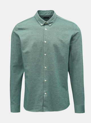 Camasa formala verde melanj slim fit Selected Homme
