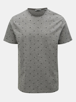 Tricou gri cu model ONLY & SONS Lang