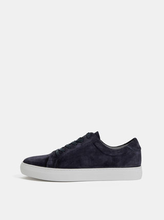 Pantofi sport barbatesti albastru inchis din piele intoarsa Vagabond Paul