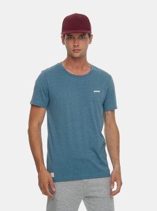 Modré pánske basic tričko Ragwear Paul Organic
