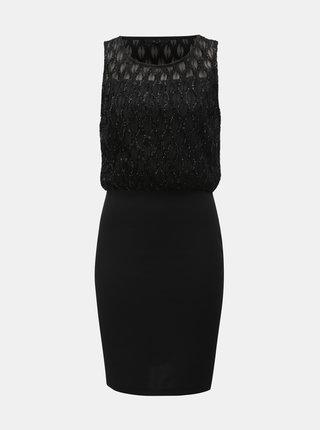 Čierne puzdrové šaty VERO MODA Shanie
