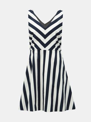 Bílo-modré pruhované šaty VERO MODA Maya