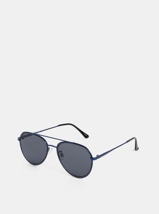 Ochelari de soare albastru inchis Selected Homme Michael