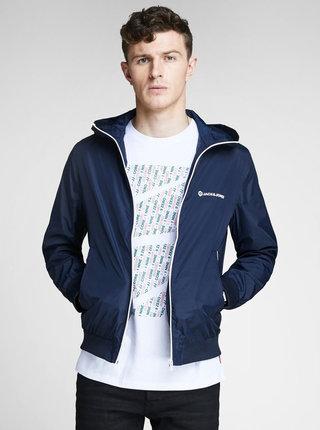 Jacheta albastru inchis lejera Jack & Jones Pete