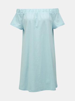 Rochie albastru deschis cu decolteu pe umeri VERO MODA Alzia