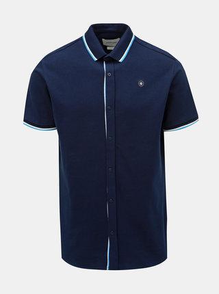 Camasa albastru inchis slim fit Jack & Jones Ebti