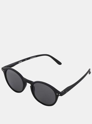 Čierne slnečné okuliare s čiernymi sklami IZIPIZI #D