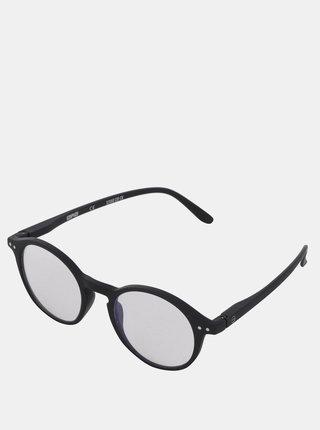 Černé ochranné brýle k PC IZIPIZI  #D