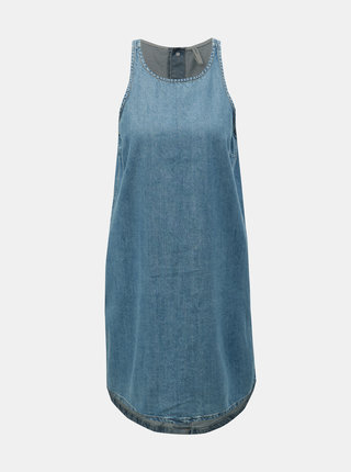 Rochie albastra din denim ONLY Carlir