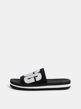 Černé dámské pantofle UGG