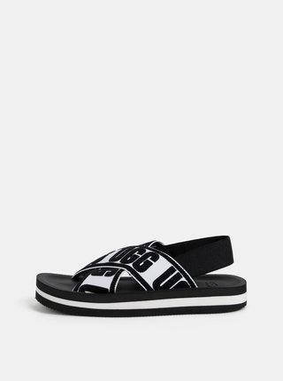 Čierne dámske sandále UGG