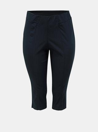 Tmavě modré 3/4 kalhoty Ulla Popken