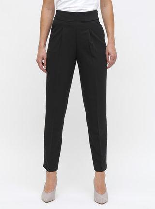 Čierne nohavice s vysokým pásom ONLY Annya