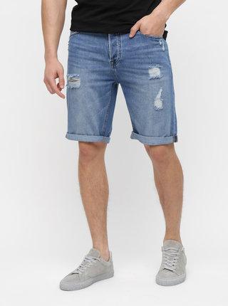 Pantaloni scurti albastri din denim ONLY & SONS Savi