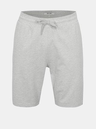 Pantaloni scurti sport gri cu snur ONLY & SONS Grigori