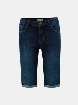 Tmavě modré džínové kraťasy Dorothy Perkins Tall