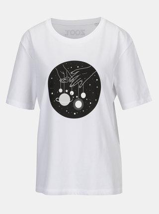 Biele dámske tričko ZOOT Original Ženy sú z Venuše, muži z Marsu