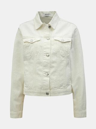 Bílá džínová bunda Dorothy Perkins
