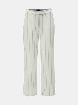 Pantaloni albi in dungi Dorothy Perkins